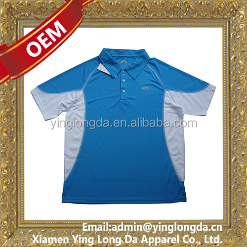 Modern best-Selling polo sport clothing with custom reflective logos