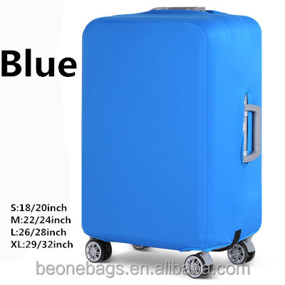 Professional hard protective luggage cover elastic trolley travel luggage bags