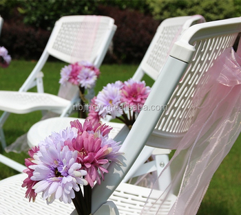 hot sale new outdoor plastic metal wedding party folding chair