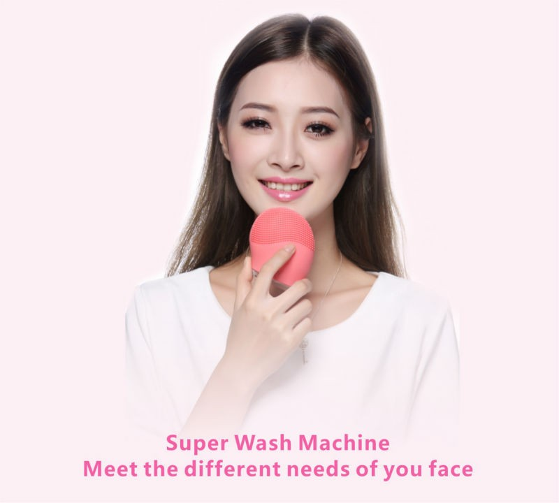 BP-SK1068 Ionic Beauty Massager Rechargeable Silicone facial cleanser