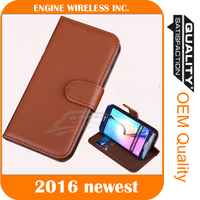 flip leather case 2016 new design for samsung mobile phone back cover