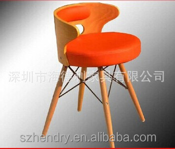 Famous designer armchair, durable plastic chair replica