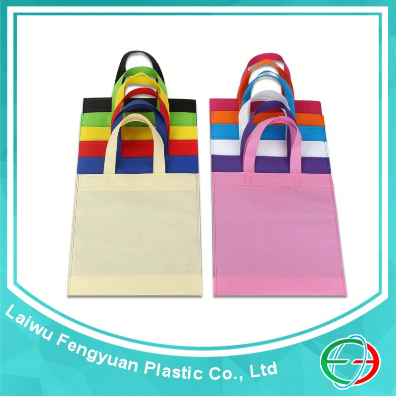 Stitching eco green non woven bag