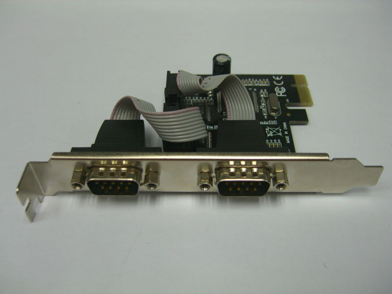 best selling PCI-E 2 serial ports card