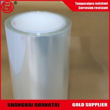 Recycled transparent pet release film roll heat transfer film