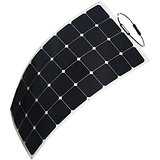 2017 Best Selling Roof RV Marine Semi Flexible Solar Panel 100W