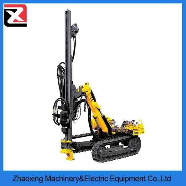 portable mining rock hydraulic crawler portable dth drilling rig