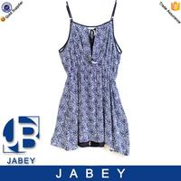 2016 casual vintage clothing dress Jabey new style printed strap dresses women dresses