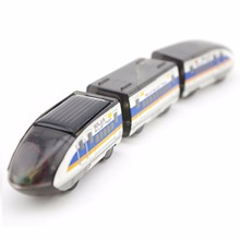 Children Educational Solar Bullet Train High-speed Trains Toy