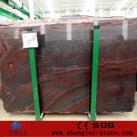 iron red granite slabs for sale