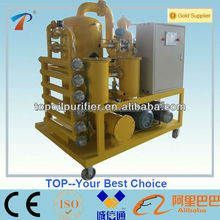 Precise filtration system and high quality filter element vacuum transformer oil filtration machine