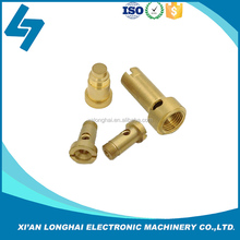 Customize high quality brass machinery parts cnc process service