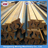 120mm height stainless steel rail for train track