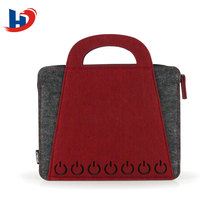Amazon hot selling woo felt bag for notebook