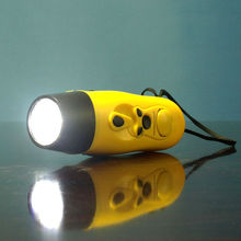 Dynamo Led torch with Fm Radio / Dynamo Charger/dynamo torch flashlight