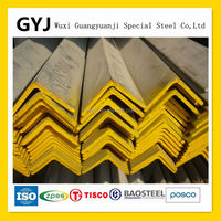 China 304 Stainless Steel Angle Bar Specification