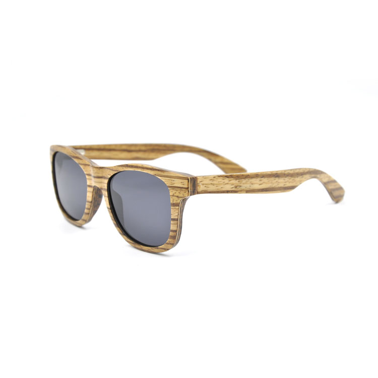 Wooden sunglasses bamboo frame fashion custom PC/AC/CR39 lens polarized sunglasses