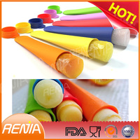 RENJIA noprice ice pop silicone ice cube form silicone ice tray