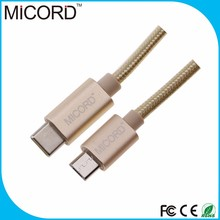 1M 3.3ft USB 3.1 Type C Cable Male to Micro USB male Data Cable for Apple New Macbook 12 Inch, Nokia N1