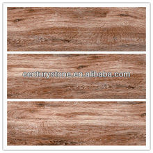 Perfact wood grain 3D ink jetting wood look ceramic floor tiles