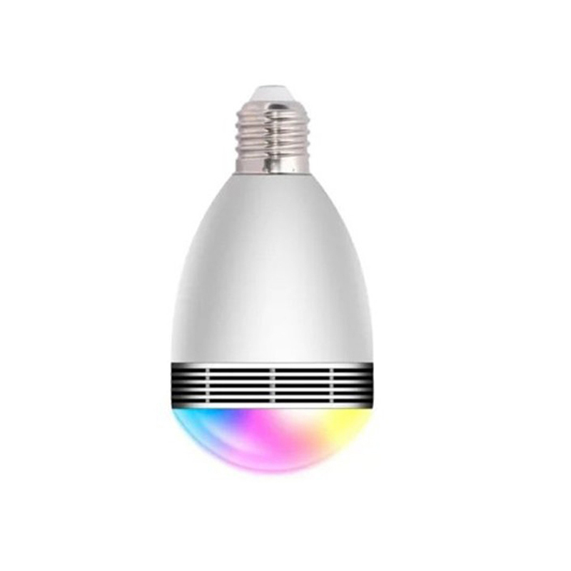 bulbs ,bluetooth app control music playing audio speaker led color bulb light white e27 , bulb music