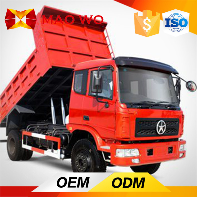 China 4*2 6T capacity JAC light dump tipper trucks for sale