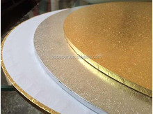 12 inch white round foil coated cake boards wholesale