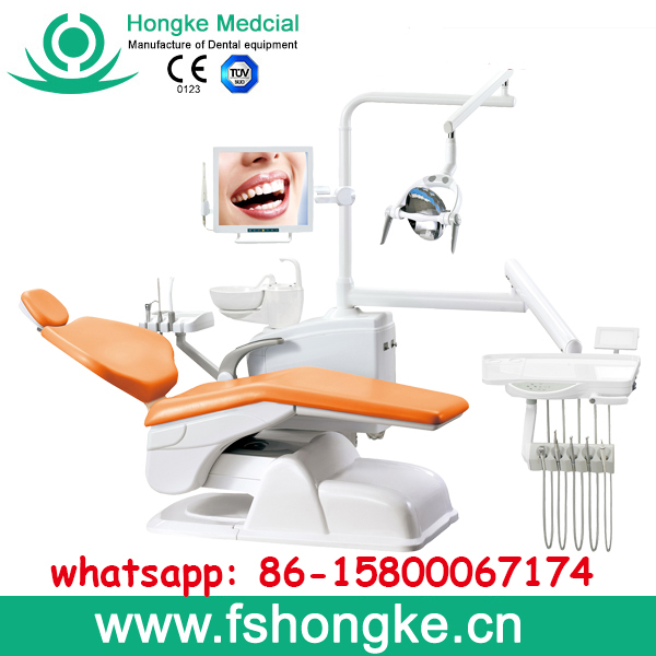 China manufactured grand dental lab equipment / Hospital dental instrument / Clinical dental chair price HK610