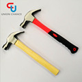 competitive price American type claw hammer with TPR handle