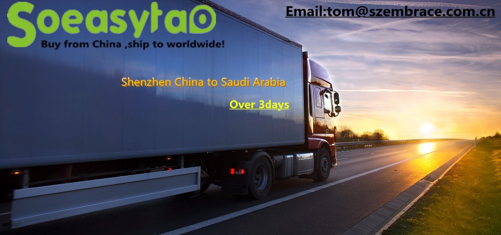 Logistics services shipping from China to Saudi arabia