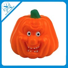 pumpkins stress reliever pu foam pumpkins smile face stress ball