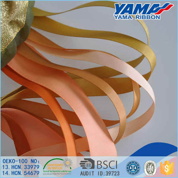 Polyester personalized ribbon