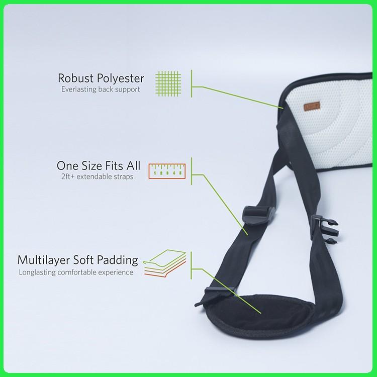 ÉCHANTILLON GRATUIT nouveau ultime ultra mince soutien du bas du dos ceinture de soutien lombaire ceinture de soutien lombaire pour soulager les maux de dos