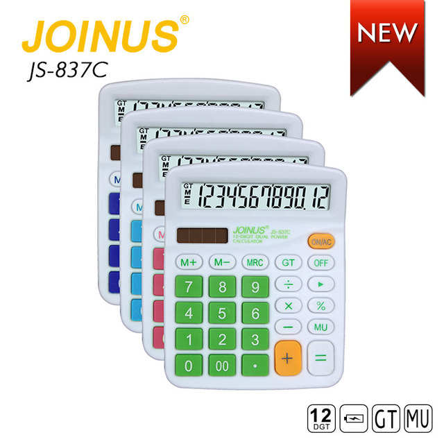 Wholesale Promotion Factory Price Supply Business Office Home 12 Digit Electronic Calculator