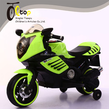 Chinese cheap high quality 2 wheel flashing wheel music electric kid motorcycle ride on car
