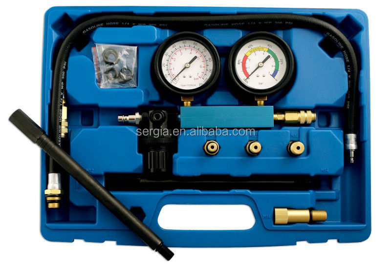 tool makers Engine Cylinder Leak Down Detector and Crank Stopper Tester