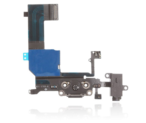 Black Brand New USB Charger Dock Charging port Connector Flex Cable For iPhone 5C