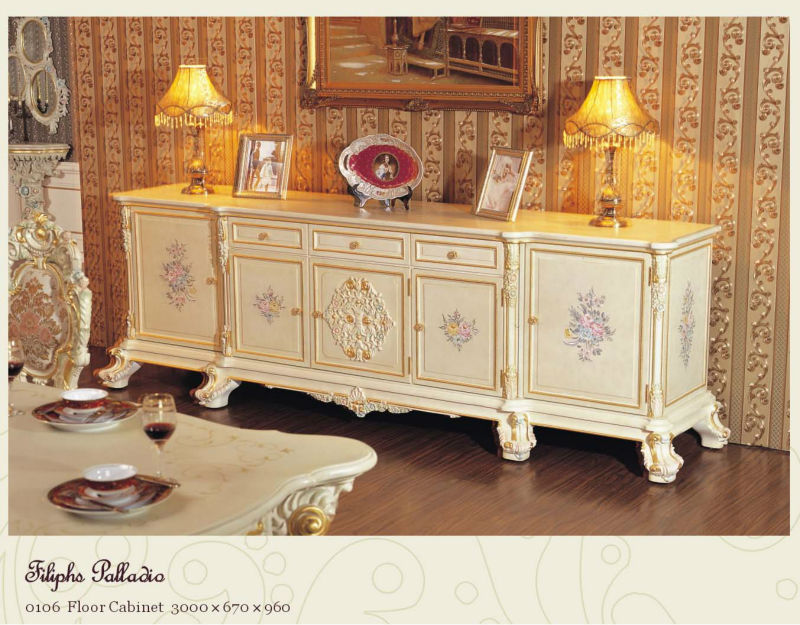 Italiaanse ontwerp eetkamer meubels klassieke franse eetkamer meubels antiek meubilair sets - Meubels set woonkamer eetkamer ...