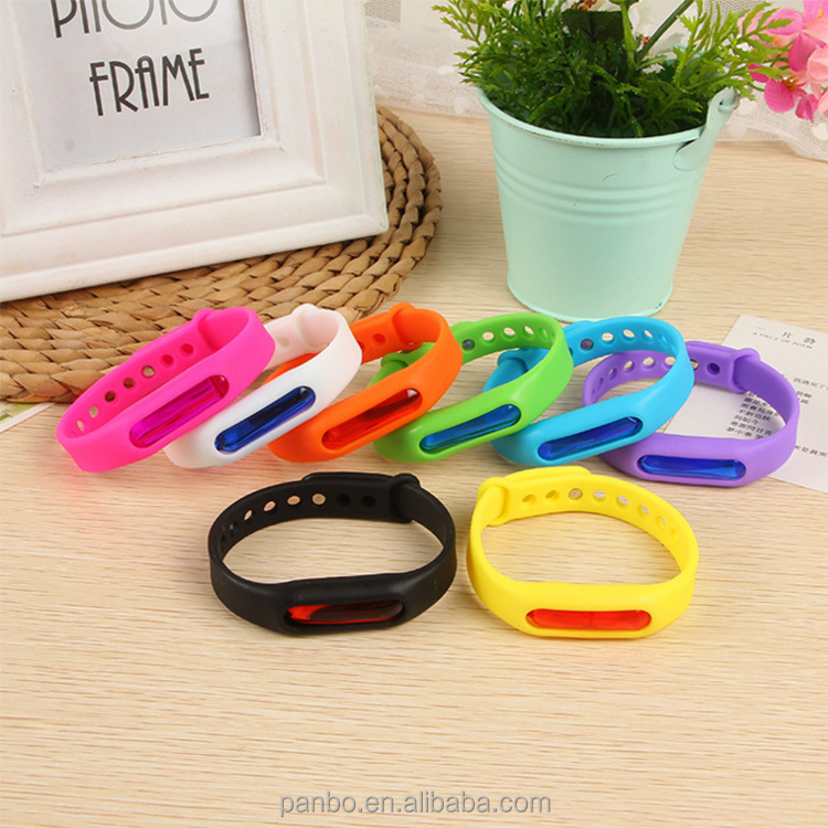 PanBo Anti Mosquito Pest Insect Bugs Repellent mosquito repellent Wrist Band Bracelet