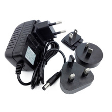 Interchangeable Plug 18w Power Adapter 9v 2a Wall Mount Charger with 1.2m Power Cord
