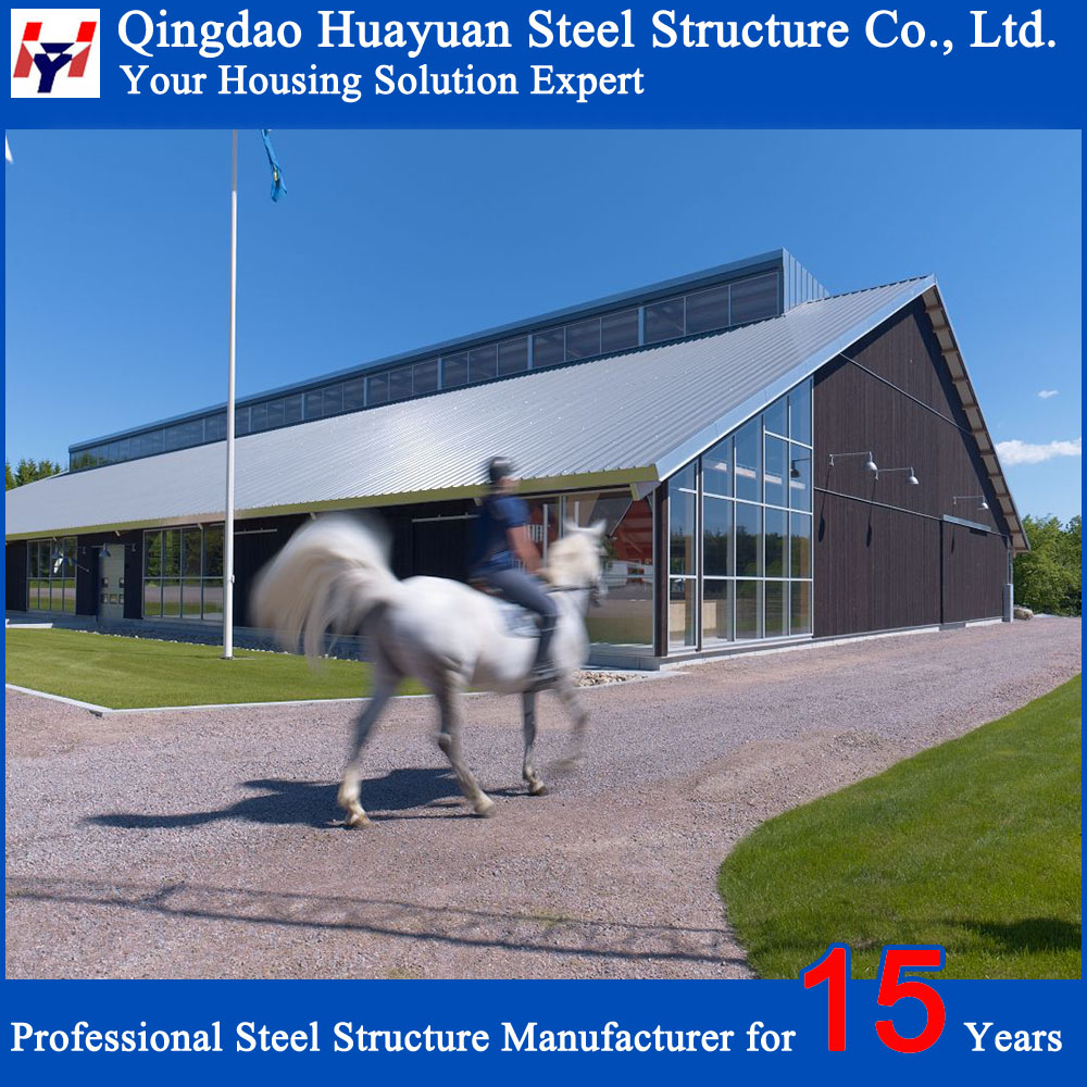 Best Price New design modern Light Steel Structure Building for Auto Workshop
