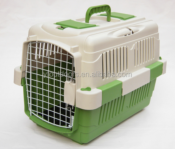 Stocked portable pet flight cage dog crate manufacturers