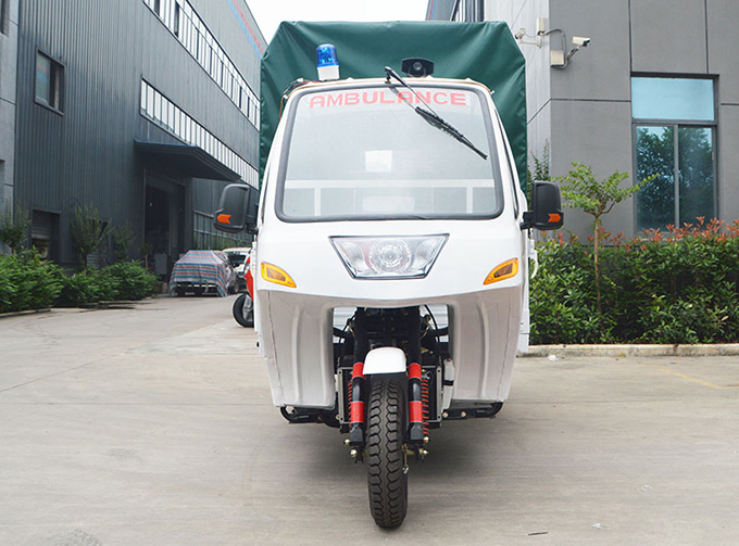 Chinese Cheap 175cc Three Wheel Motorcycle Ambulance Tricycle Truck For Sale Ambulance 175