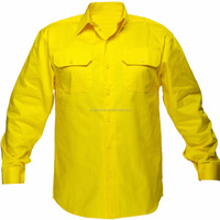 Cotton Drill Work Uniform Shirt Industrial