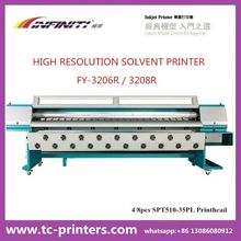 3.2m Infiniti FY-3208R flex banner solvent printer( 8color ,high quality ,light duty )