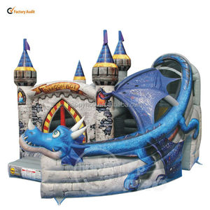 Happy Hop Pro Hot Sale Inflatable Bouncer Rental-1031N Commercial Bouncers Climb and Slide Inflatables