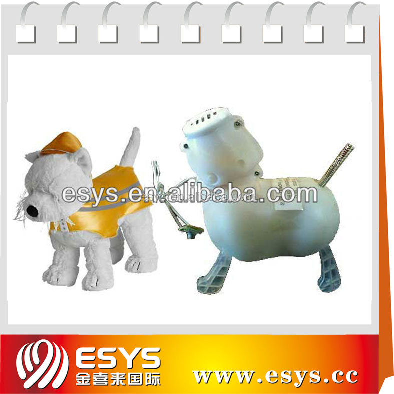 GSV certification custom wholesale handmade stuffed singing dog musical plush toy