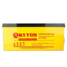 Ryton maintenance free dry battery 12v 200ah Factory price easy install on-grid 30kw solar system