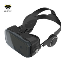 Bobovr Z4 Virtual Reality VR 3D Glasses With Headphone Answer Phone Call