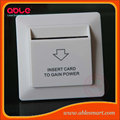 Energy saver, Hotel card switch room power control unit